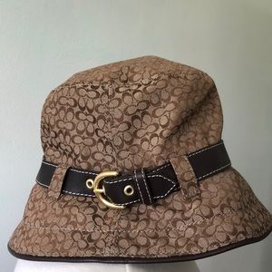 Coach AUTHENTIC Bucket Hat LIKE NEW